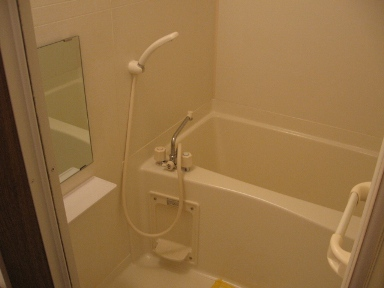 フロ-ラリア 01010号室の風呂