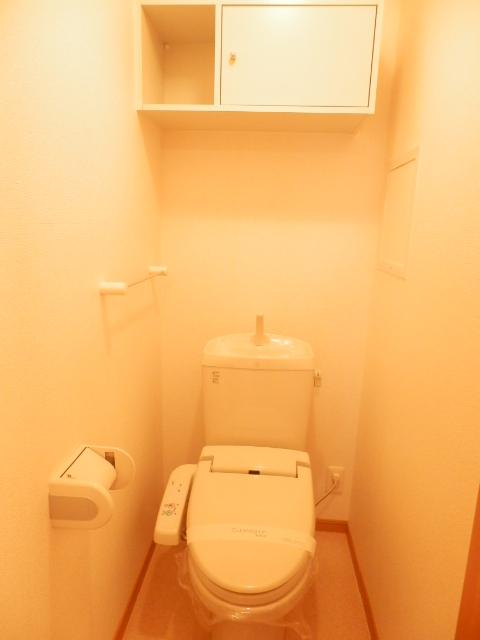 カーサ六番館 02010号室のトイレ