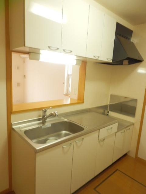 フィオーレA 01020号室のキッチン