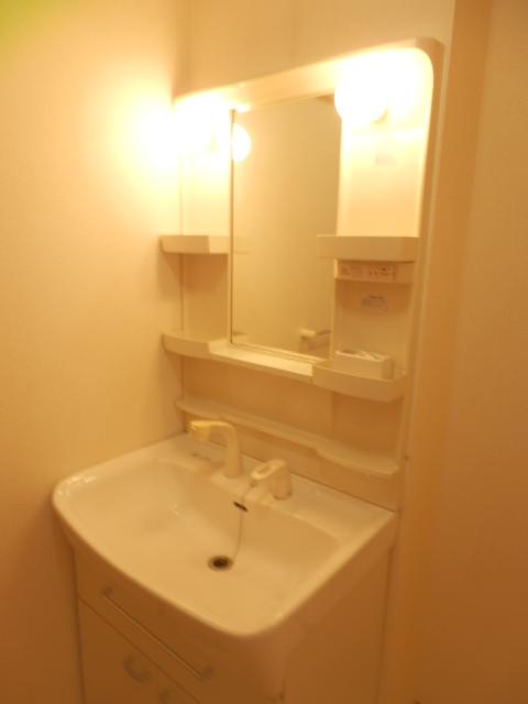 フィオーレA 01020号室の洗面所