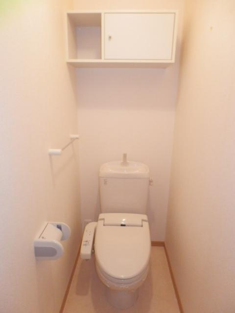 フィオーレA 01020号室のトイレ