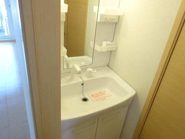 ルミナスM6 B 01020号室の洗面所