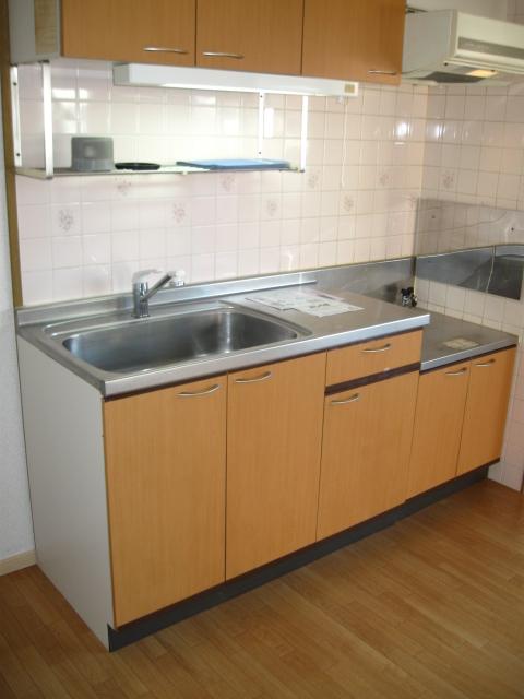 ロジュマン本郷B棟 01010号室のキッチン