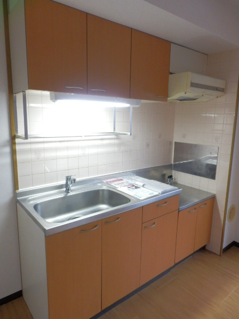 ロジュマン本郷B棟 02010号室のキッチン