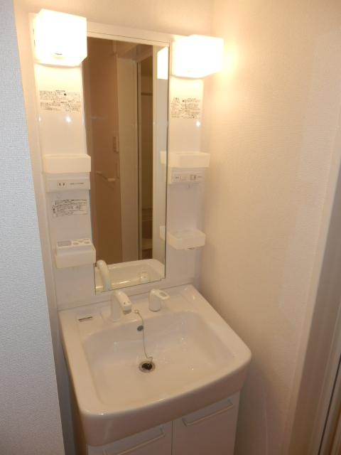 ヴィオラ 02020号室の洗面所