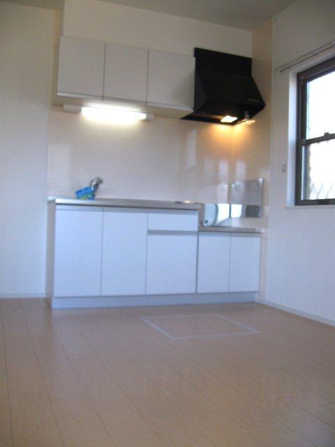 ヴェルデ向陽Ⅲ 01010号室のキッチン