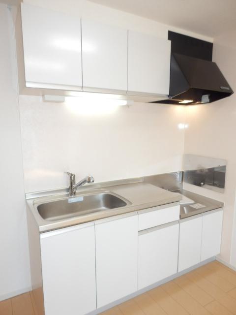 ヴェルデ向陽Ⅱ 02030号室のキッチン