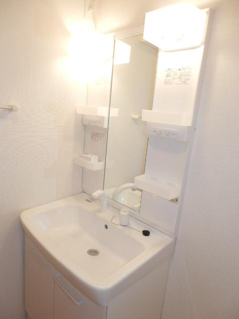 ヴェルデ向陽Ⅱ 02030号室の洗面所
