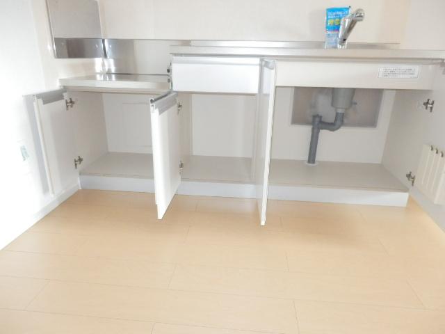 アムールB 02010号室のキッチン