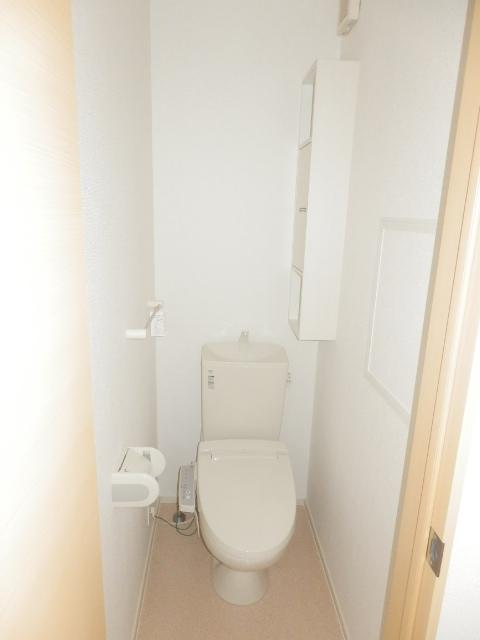 アムールB 02010号室のトイレ