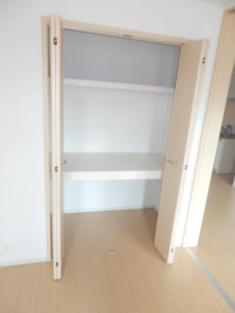 アムールB 02010号室の収納