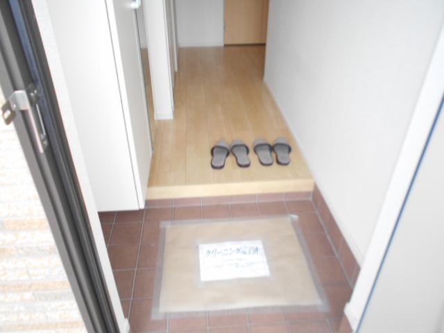 アルモニー・メゾン 01020号室の玄関