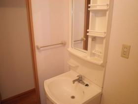 セジュール 203号室の洗面所