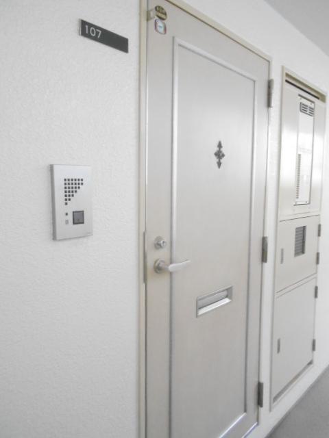 ジョイフル大和南 107号室のロビー