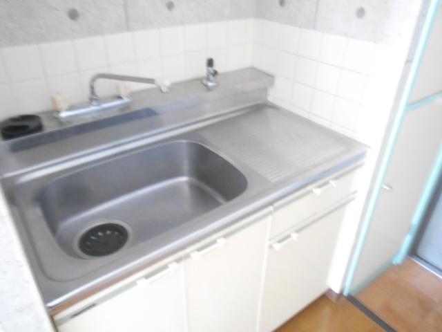 パールハイツ 201号室のキッチン