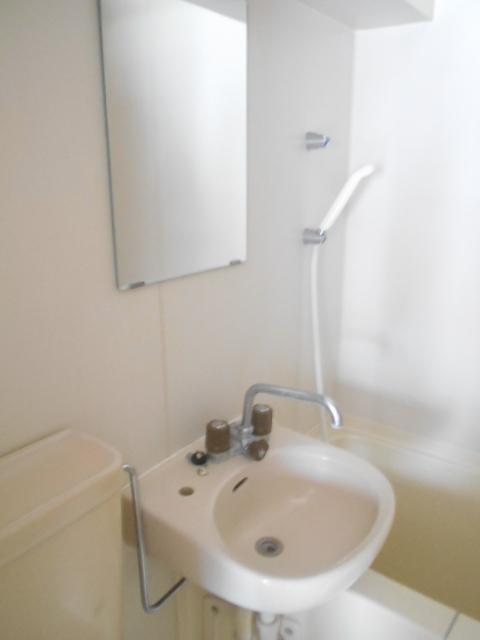 パールハイツ 201号室の洗面所