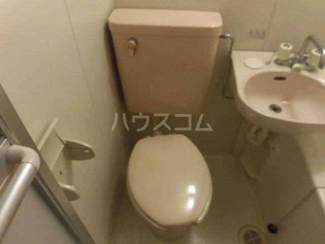 エステート丸山 203号室のトイレ