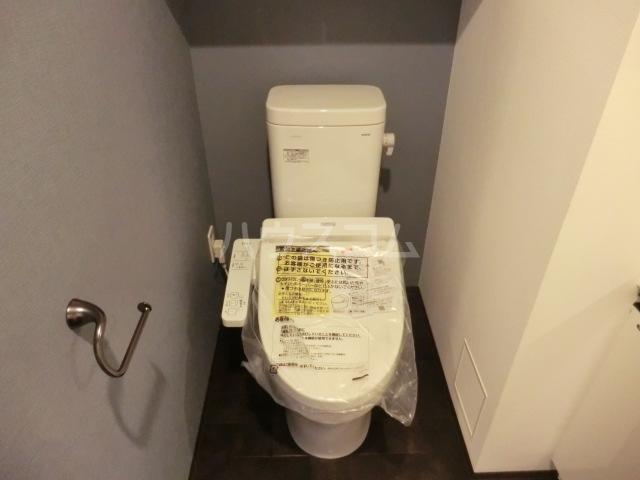 ステージグランデ八王子 101号室のトイレ