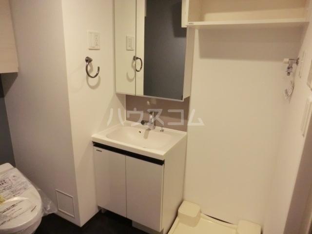 ステージグランデ八王子 101号室の洗面所