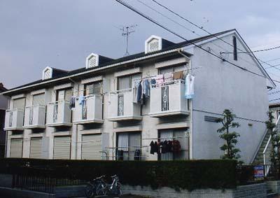 ユタカハイツC棟外観写真