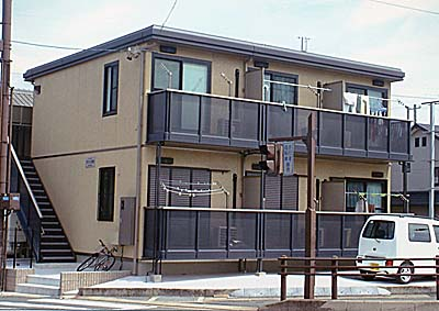 プチハウス本宿外観写真