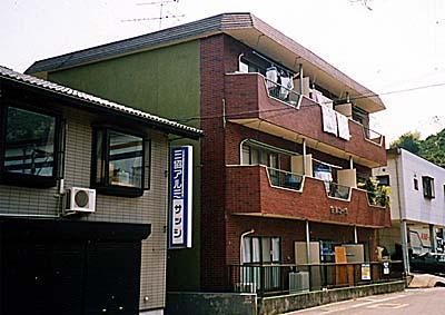 岳美コーポ外観写真