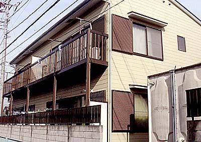 田島・岡昭ハイツ外観写真
