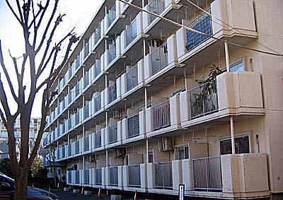 菊名スカイマンションB棟外観写真