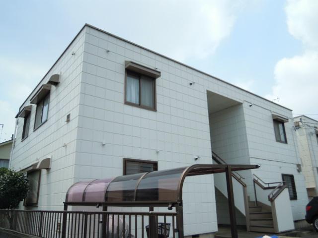 アパートメント294番館A棟外観写真