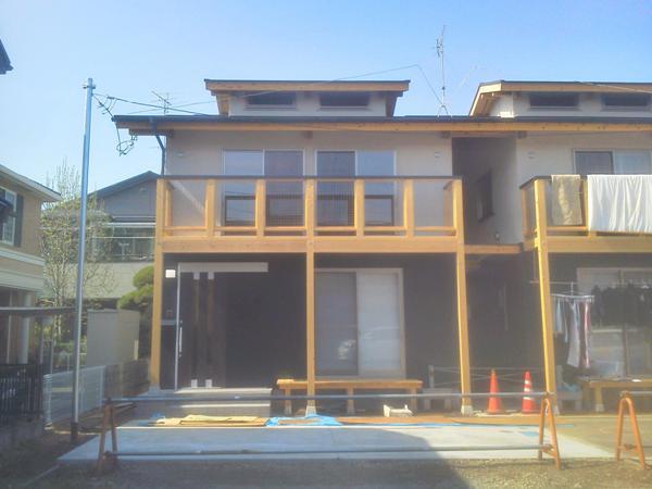 木造の家外観写真
