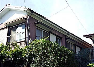 横田荘の外観