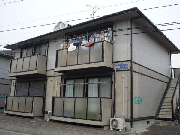 藤コーポG棟外観写真