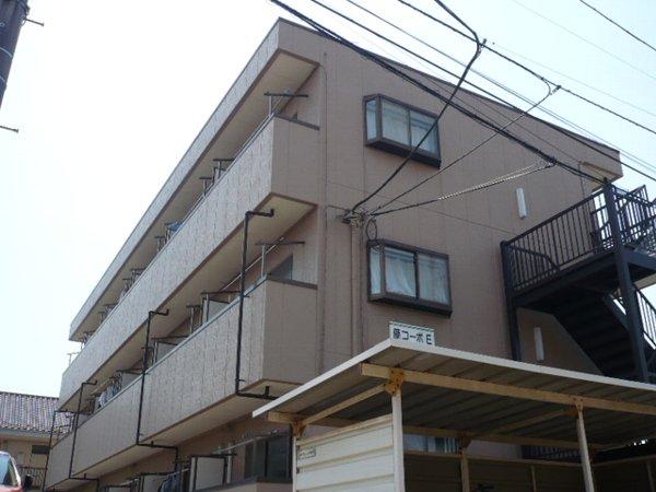 藤コーポE棟外観写真
