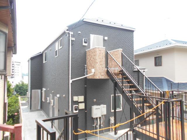 (仮)能ヶ谷2丁目新築アパート外観写真