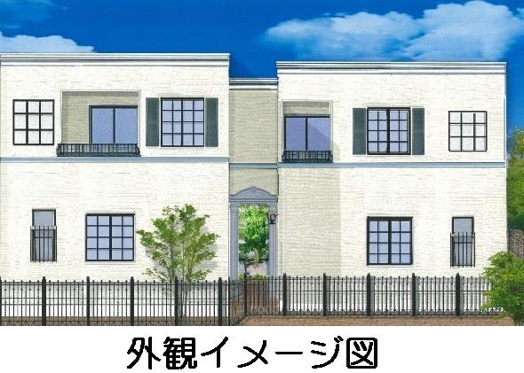 仮)富塚町新築テラスハウスB外観写真