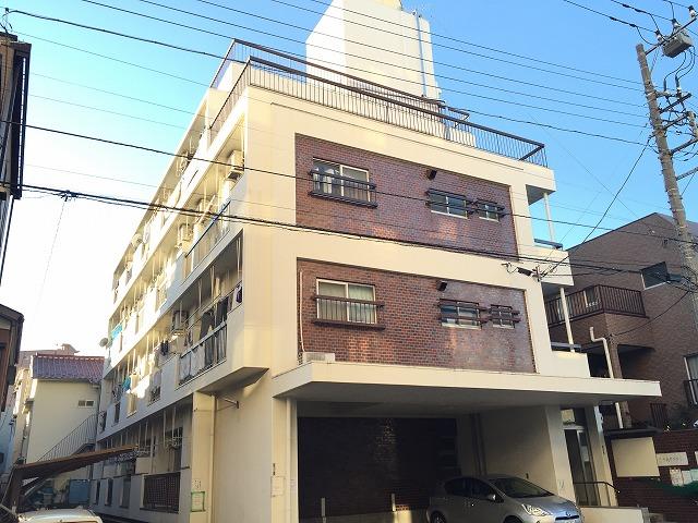 神明富士美マンション外観写真