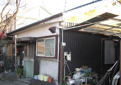 川上町貸家外観写真