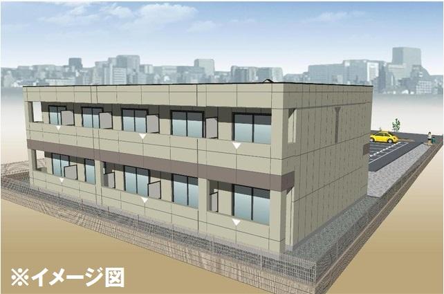 仮)岐阜市長良S様2期新築アパート外観写真