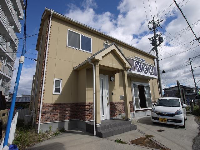 天カ須賀戸建住宅外観写真