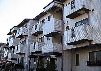 桜町マンション外観写真