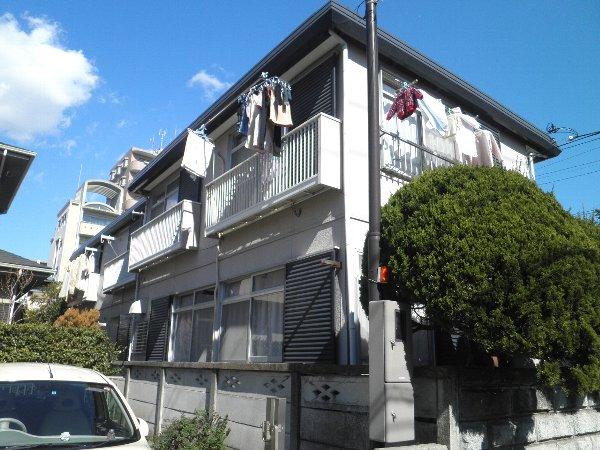 粟田口アパート外観写真