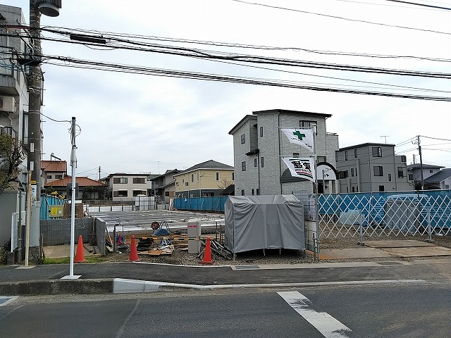 (仮称)平塚市徳延新築アパート外観写真