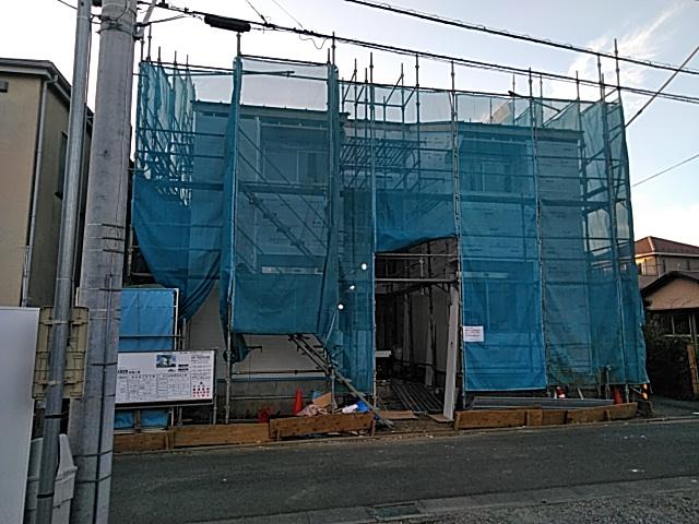 (仮称)袖ヶ浜計画共同住宅新築工事外観写真