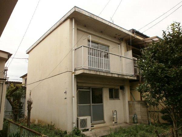 米田様テラスハウス外観写真