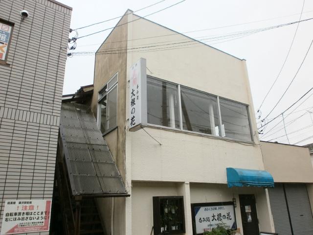 店舗2階住居外観写真