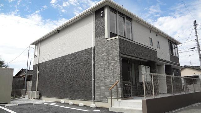 飯能ペットアパート新築工事外観写真