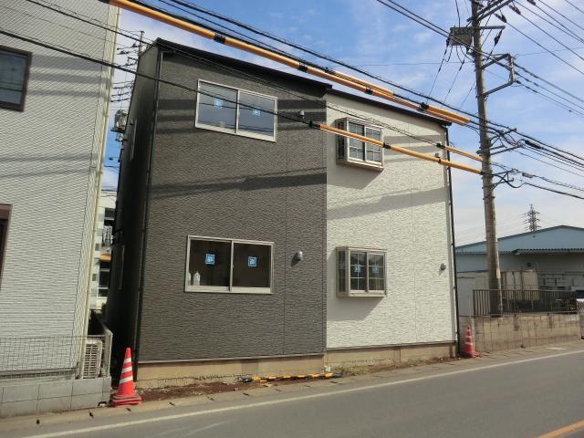 (仮)新所沢新築アパート外観写真