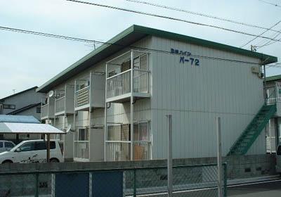 ハイツパー72 B棟外観写真