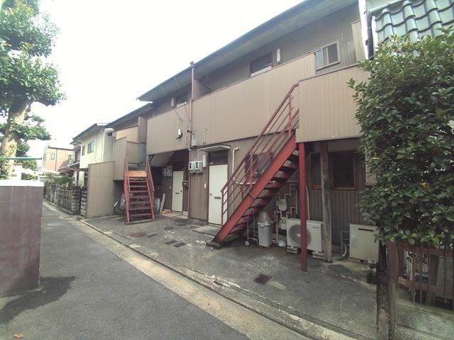 長島アパート外観写真