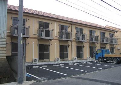 第5カネイ八帖北町アパート外観写真